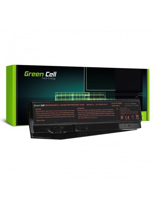 Green Cell Pro Laptop akkumulátor / akku N850BAT-6 Clevo N850 N855 N857 N870 N871 N875, Hyperbook N85 N85S N87 N87S