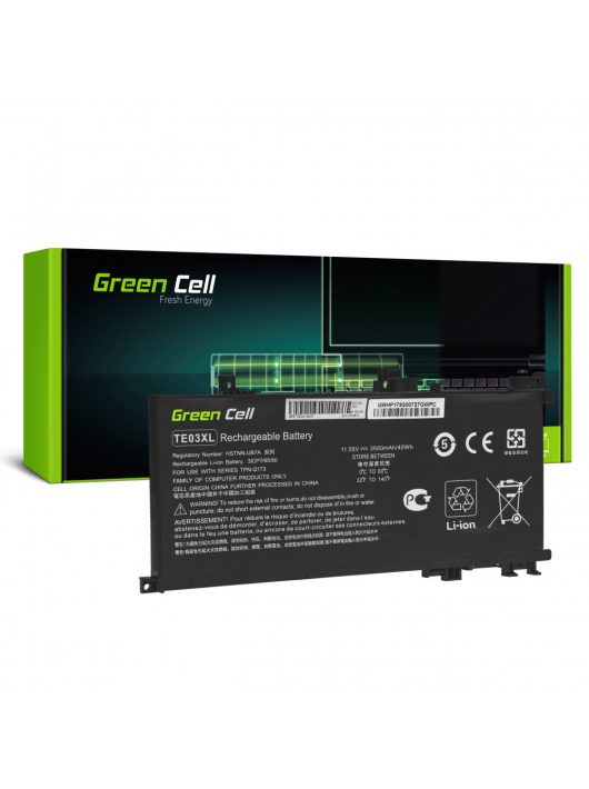 Green Cell Pro Laptop akkumulátor / akku TE03XL HP Omen 15-AX052NW 15-AX055NW 15-AX075NW 15-AX099NW, HP Pavilion 15-BC402NW 15-BC408NW 15-BC411NW