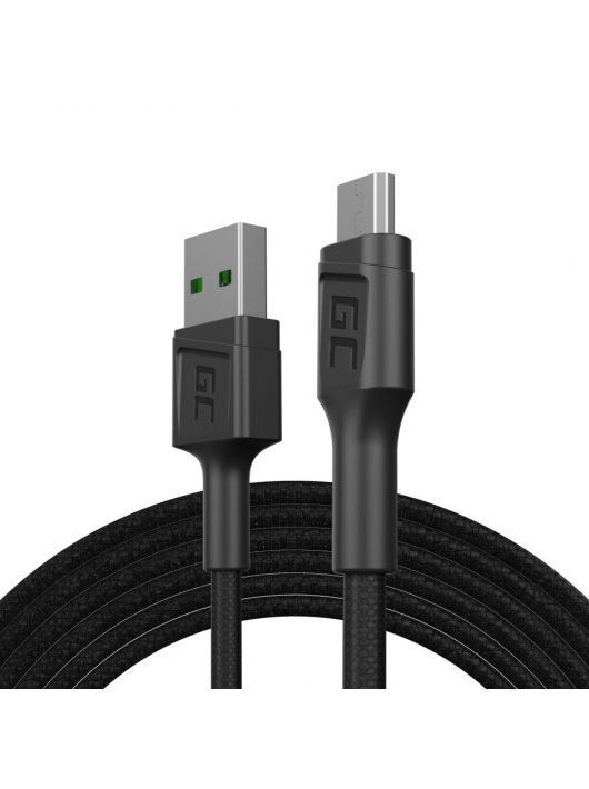 Green Cell GC PowerStream USB-A - Micro USB 200cm Ultra Charge, QC 3.0
