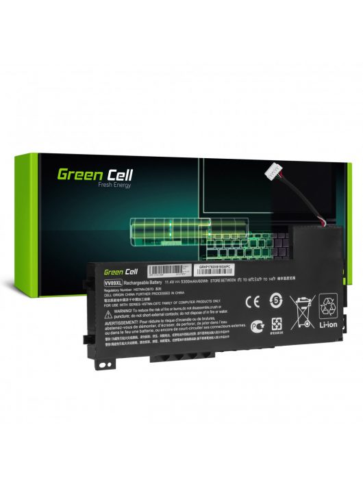 BatteryGreen Cell VV09XL for HP ZBook 15 G3 G4