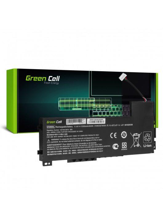 Green Cell Pro Laptop akkumulátor / akku VV09XL HP ZBook 15 G3 G4