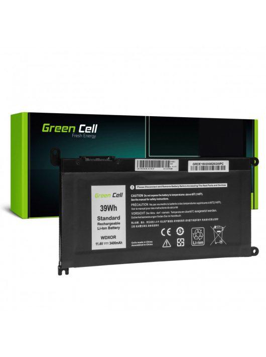Green Cell Pro Laptop akkumulátor / akku WDX0R WDXOR Dell Inspiron 13 5368 5378 5379 14 5482 15 5565 5567 5568 5570 5578 5579 7560 7570 17 5770