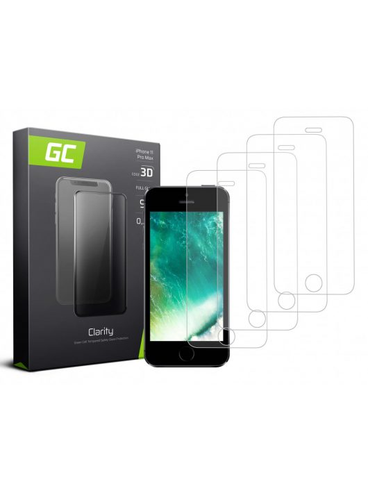 4x Screen protection GC Clarity for iPhone 5 / 5S / 5C / SE