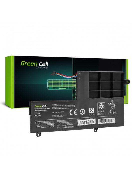 Green Cell Laptop akkumulátor / akku L14L2P21 L14M2P21 Lenovo Yoga 500-14 500-14IBD 500-14ISK 500-15 500-15IBD 500-15ISK