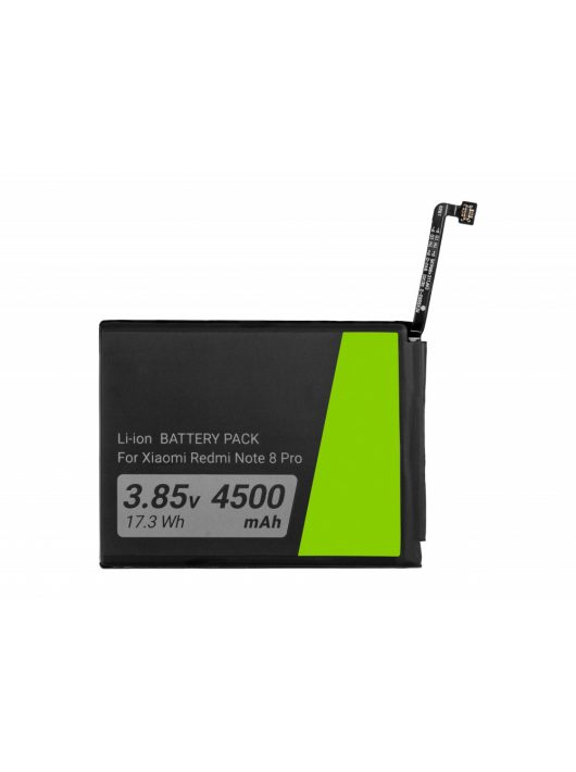 Green Cell Smartphone akkumulátor / akku BM4J Xiaomi Redmi Note 8 Pro