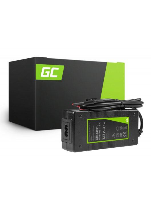 Green Cell LiFePO4 akkumulátor / akku töltő 14.6V 4A