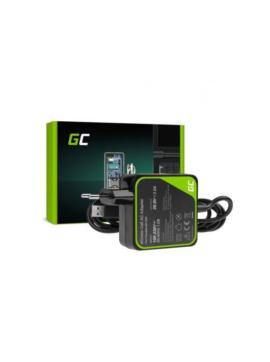 Green Cell Pro Hálózati töltő 20V 2A 40W Lenovo Yoga 3 és Lenovo Yoga 3 PRO