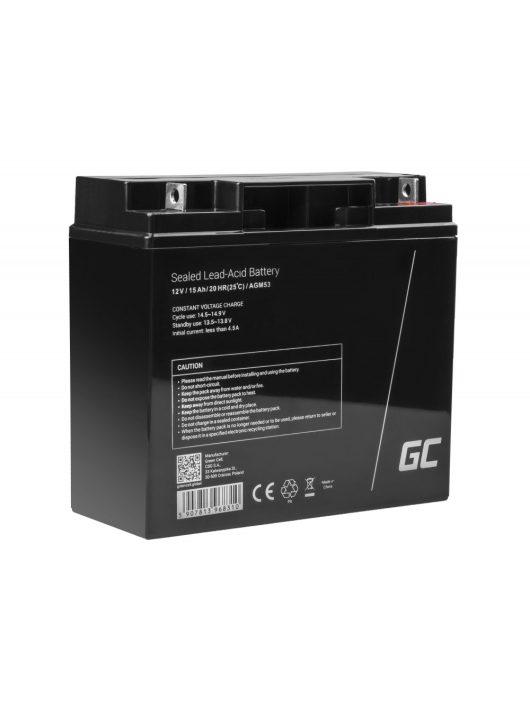 AGM akkumulátor/akku 12V 15Ah AGM53
