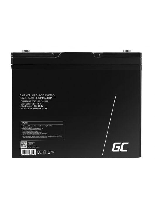 AGM akkumulátor/akku 12V 80Ah