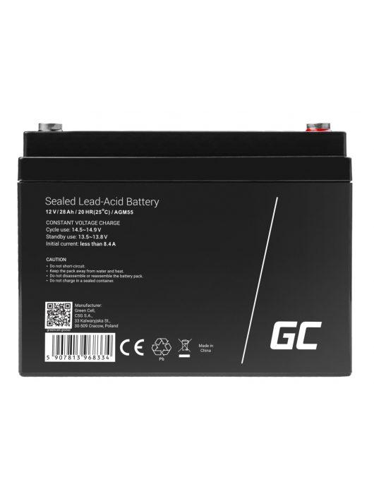 AGM akkumulátor/akku 12V 28Ah