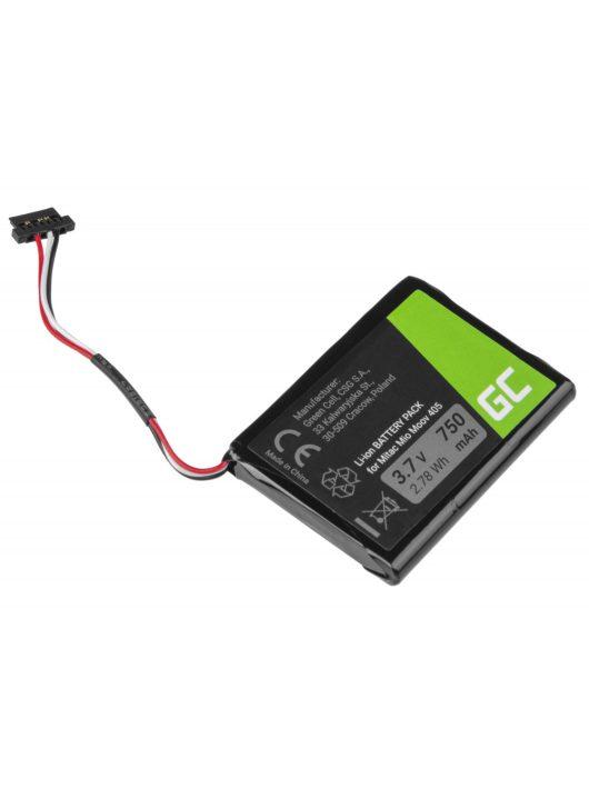 GPS akkumulátor / akku GPS Mitac Moov 500 510 560 580 N210, Li-Ion 750mAh 3.7V