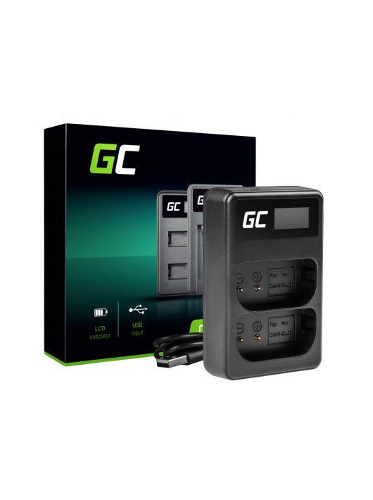 akkumulátor / akku Töltő DMW-BTC14 DMW-BLJ31 Panasonic Lumix S1, S1H, S1K, S1R, S1RM 4.2V 2.5W 0.6A