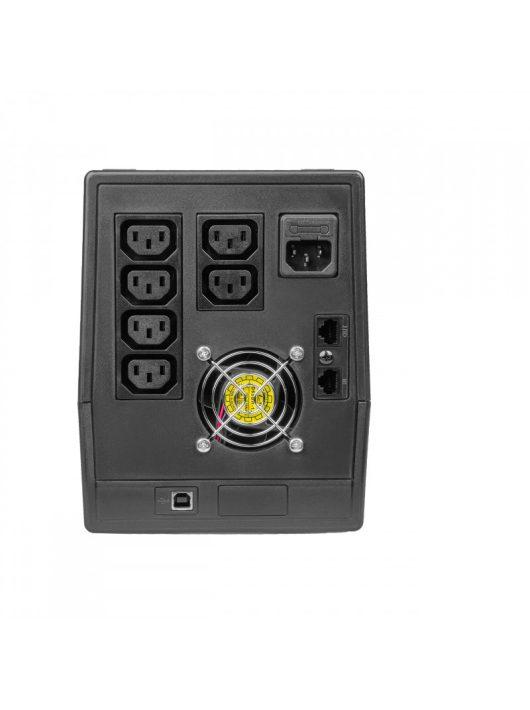 UPS Szünetmentes tápegység Micropower 2000VA 1200W  LCD kijelző