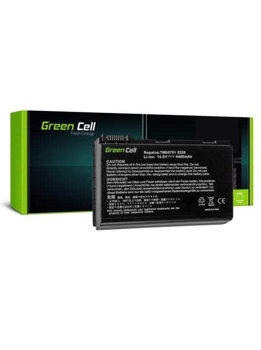 Green Cell Laptop akkumulátor / akku Acer TravelMate 5220 5520 5720 7520 7720 Extensa 5100 5220 5620 5630 14.8V