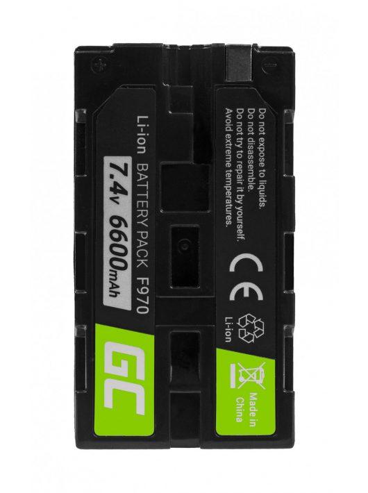 Green Cell Digitális kamera akkumulátor / akku Sony NP-F330 NP-F530