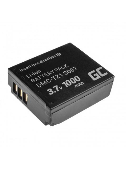 Green Cell Digitális kamera akkumulátor / akku Panasonic Lumix DMC-TZ1 DMC-TZ2 DMC-TZ4