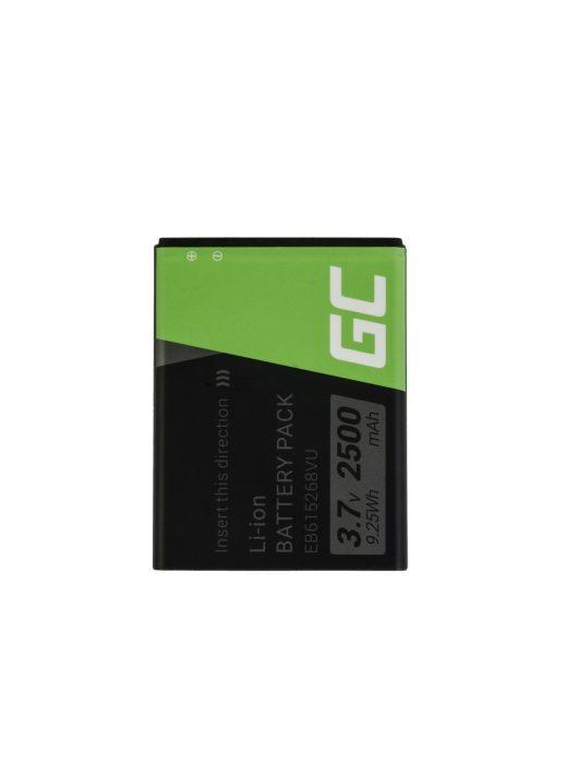 Green Cell Smartphone akkumulátor / akku Samsung Galaxy Nemte N7000 i9220 EB615268VU