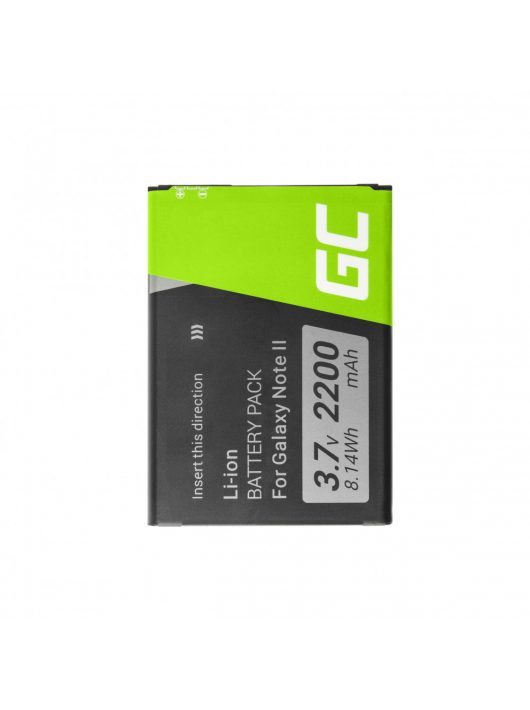 Green Cell Smartphone akkumulátor / akku Samsung Galaxy Nemte II N7100