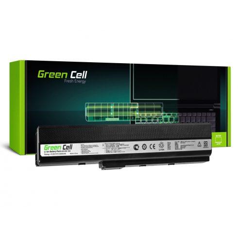 Green Cell Laptop akkumulátor Asus K52 K52J K52F K52JC K52JR