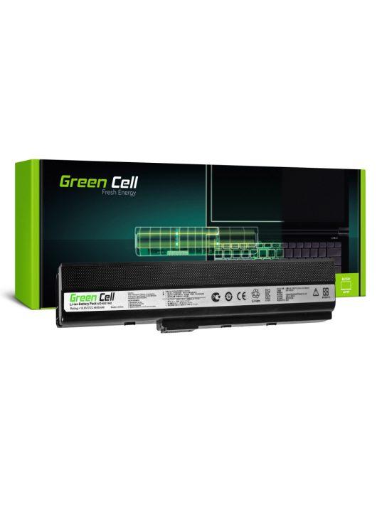 Green Cell Laptop akkumulátor / akku Asus K52 K52J K52F K52JC K52JR