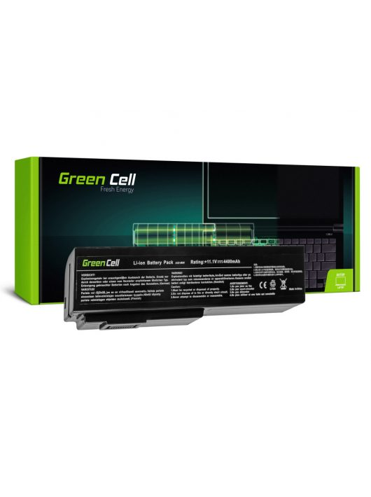 Green Cell Laptop akkumulátor / akku Asus G50 G51 G60 M50 M50V N53 N53SV N61 N61VG N61JV