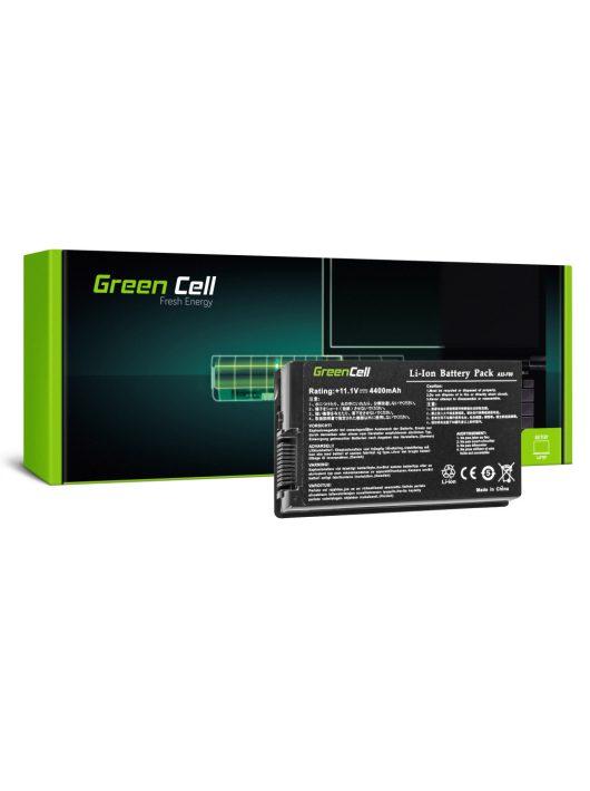 Green Cell Laptop akkumulátor / akku Asus F50 F50Q F50Z F80S N60 X60 X61 X61S X61Z X61SL