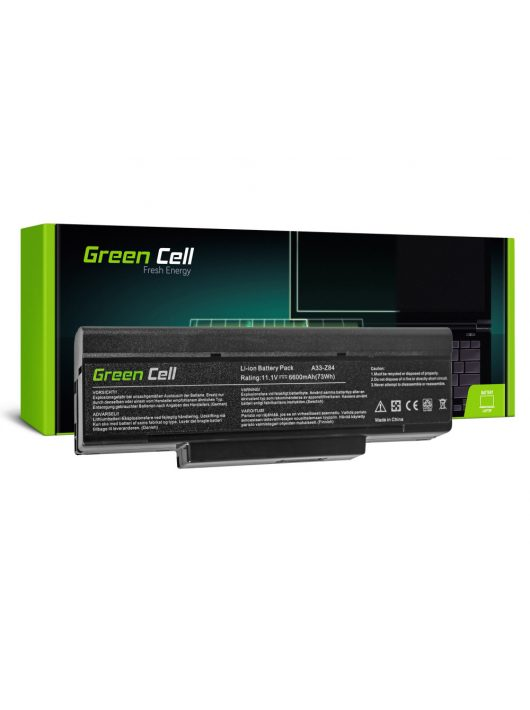 Laptop akkumulátor / akku Asus A9 S9 S96 Z62 Z9 Z94 Z96 PC CLUB EnTeljesítmény ENP 630 COMPAL FL90 COMPAL FL92 AS34