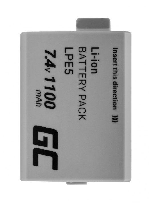 Digitális kamera akkumulátor / akku Canon LP-E5 EOS 450D 500D 1000D