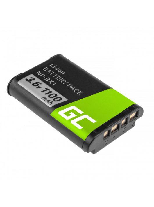 Green Cell Digitális kamera akkumulátor / akku Sony NP-BX1