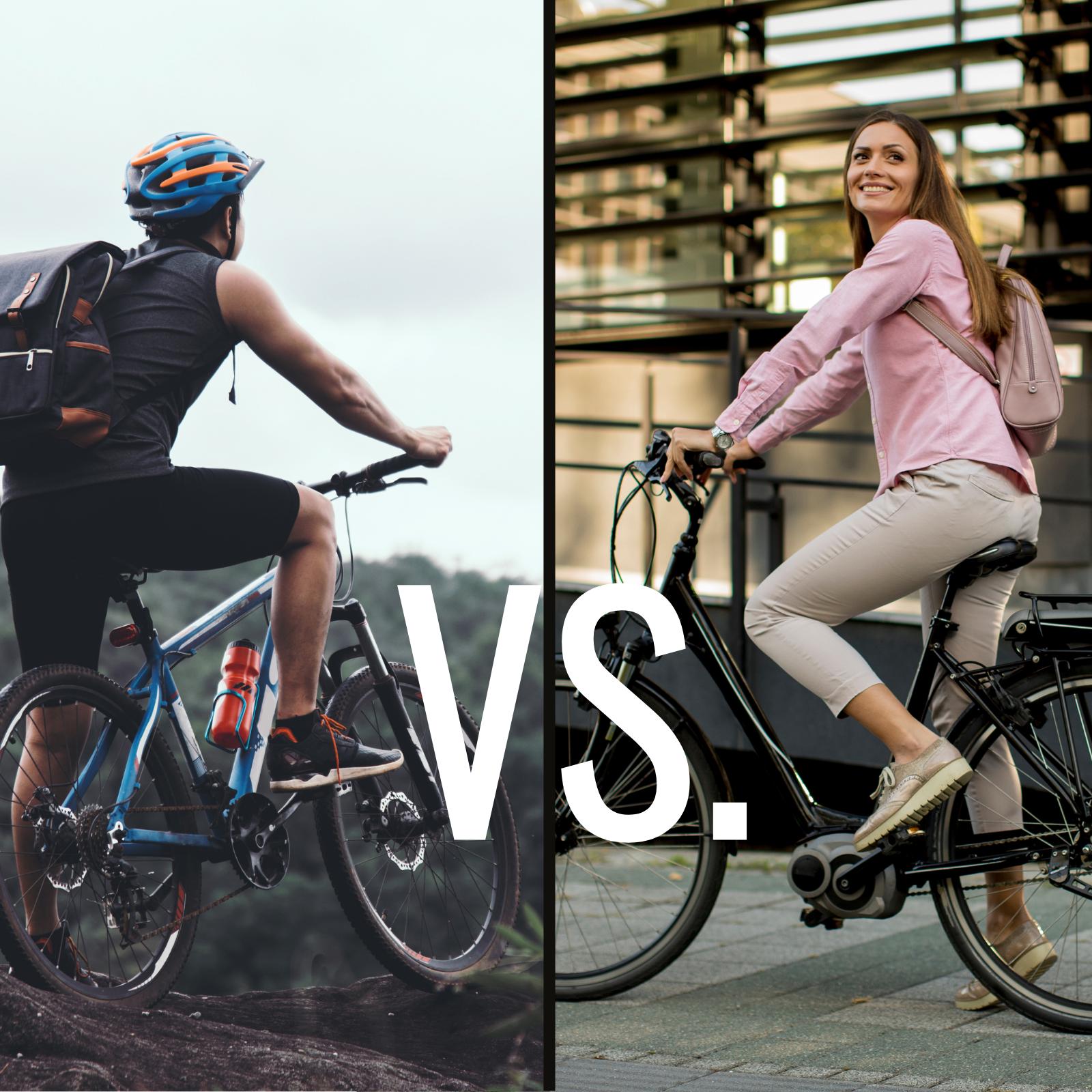 Elektromos kerékpár vs. hagyományos