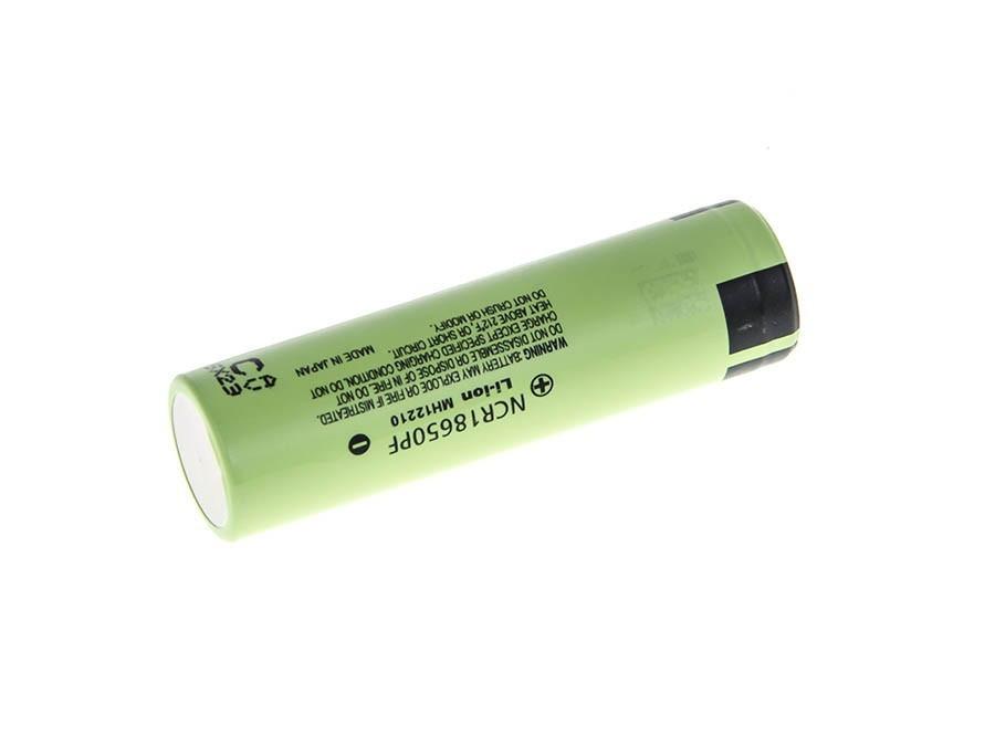 Panasonic Li-Ion Cell 18650 NCR18650PF 2900 mAh