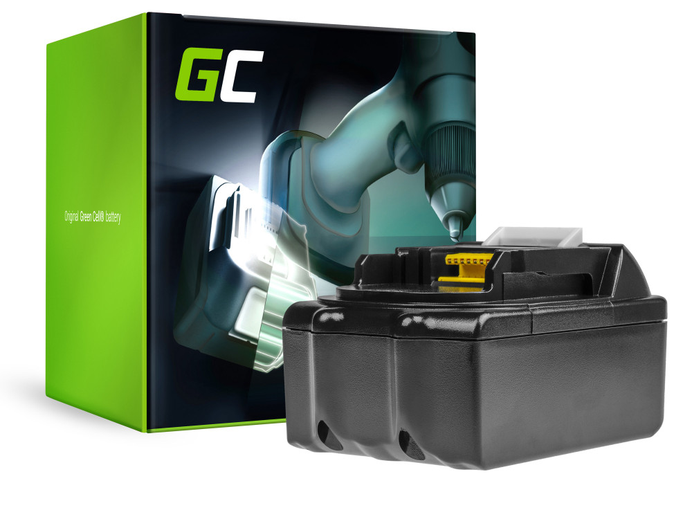 Green Cell Kéziszerszám akkumulátor / akku Makita BDF450SFE BTL061RF BTW450RFE