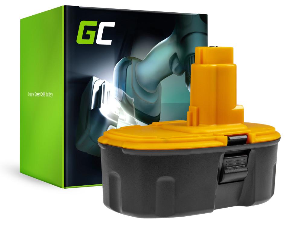 Green Cell Kéziszerszám akkumulátor / akku DeWalt DC020 DC212