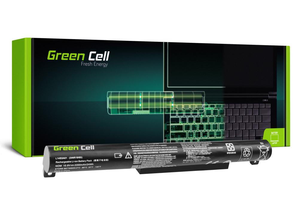 Green Cell Laptop akkumulátor / akku L14C3A01 L14S3A01 Lenovo B50-10, Lenovo IdeaPad 100-15IBY