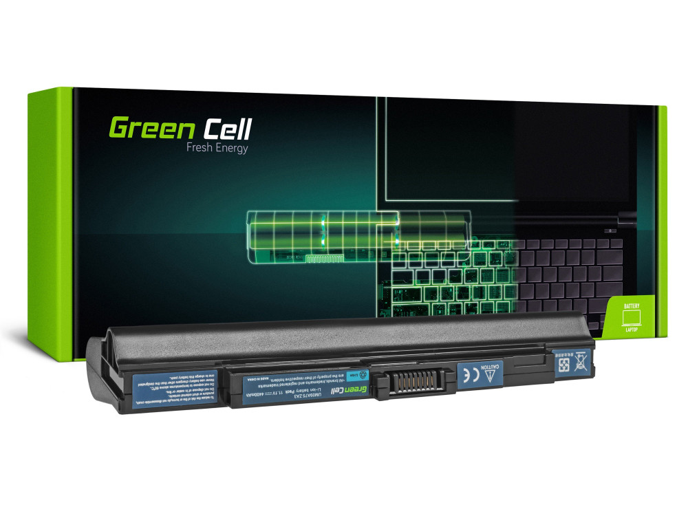Green Cell Laptop akkumulátor / akku Acer Aspire One 531 531H 751 751H ZA3 ZG8